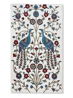 nuLoom Peacock (Ivory)
