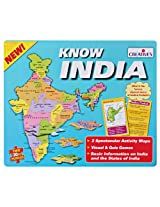 Creative's Know India - Map Game