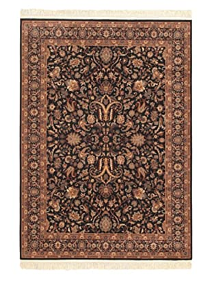 Royale Rug, Beige/Black, 5' 7