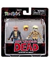 Diamond Select Toys The Walking Dead Minimates Series 7: Derek & Holly Action Figure (2 Pack)
