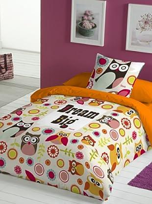 Juego de Funda Nórdica Dream Big Owl (Multicolor)