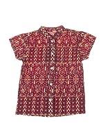 Spantajáparos Camisa Japonesa espiga (Granate)