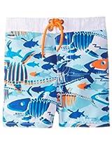 Osh Kosh Baby Boys' Multi Fish Trunks