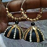 Hamdmade silkthread earrings