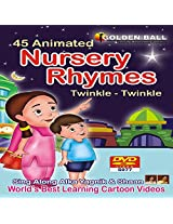 Golden Ball - 45 Animated Nursery Rhymes Dvd