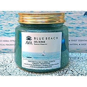 AVA BLUE BEACH FACE GEL SCRUB