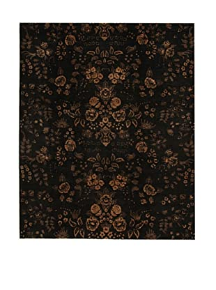 Design Community by Loomier Alfombra Mirage Negro 246 x 300 cm