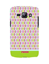 Colourful mobile pattern 3D Back Cover for Samsung Galaxy J3::Samsung Galaxy J3 J300F-D3083