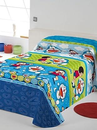 Euromoda Colcha Bouti Doraemon & Nobita (Multicolor)