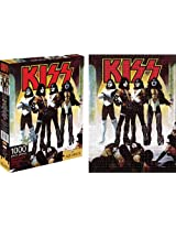Aquarius Kiss Love Gun 1000 Piece Jigsaw Puzzle