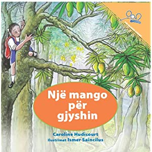 A Mango for Grandpa (Albanian Edition)