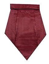 Navaksha Micro Fiber Maroon Cravat