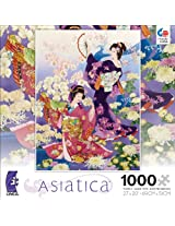Ceaco Asiatica Ran Kiku Jigsaw Puzzle, 1000 Piece