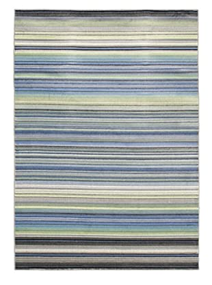 Chroma Stripes Area Rug (Blue)