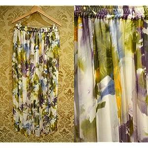 Tiara by Roshini Shah Floral Maxi Skirt