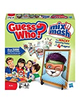 Guess Who? Mix N Mash Mystery Guessing Game With Over 3000 Face Combos!
