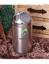 Karma Push bin 7x14 Stainless Steel Dustbin