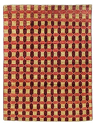 Bashian Rugs Hand Knotted One-of-a-Kind Pak Gabbeh Rug, Multi, 5' x 6' 5