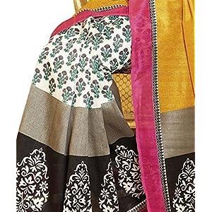 Taanshi Art Silk Saree(Taanshi10920_Multi-Coloured)