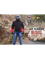 Zeus ONDRCKS067 Men's All Terrain Blood Jacket (Red, 2X-Large)
