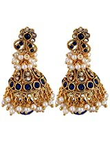 Agarwal Bentex Gold Plated Traditional Jhumki For Women