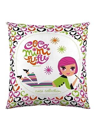 Robine Zingone Funda de Cojín Coco (Multicolor)