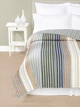 Amity Home Wren Stripe Quilt (Multi)