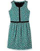 Allen Solly Women's Cotton A-Line Dress