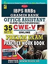 Kiran's IBPS RRBs Gramin Bank Office Assistant Clerk CWE - V Preliminary Exam Practice Work Book with Scratch Card - 1761
