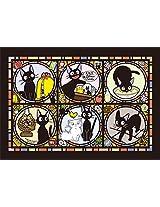 208 Pieces kikis delivery service Jigsaw puzzle (Jiji) Art Crystal Jigsaw (18.2x25.7cm)