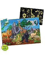 Puzzle Doubles In Glow The Dark Wildlife