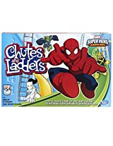 Marvel Spider Man Web Warriors Chutes & Ladders Game