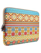 PLEMO Bohemian Style Canvas Fabric 11-11.6 Inch Netbook / Laptop / Notebook Computer / MacBook Air Sleeve Case...