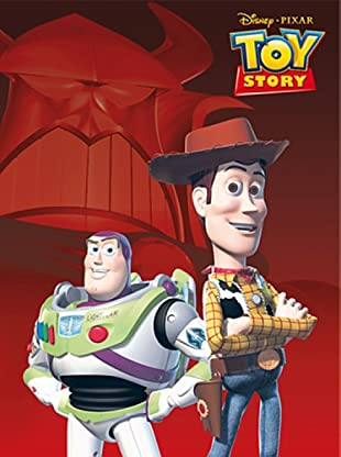 Disney Home Telo Bagno Toy Story (Rosso)