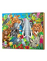 The Learning Journey Lift and Discover Jigsaw Puzzle Animals of the World, Multi Color (48 Pieces)