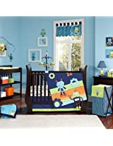 NoJo Baby Bots Crib Bedding Set