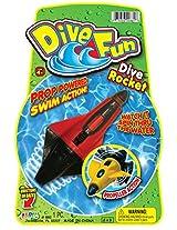 Ja-Ru Fun Dive Rocket Party Favor Bundle Pack (8 Piece Bundle- Colors May Vary)