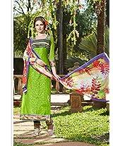Rozdeal Women Cotton Chudidar Salwar Kameez