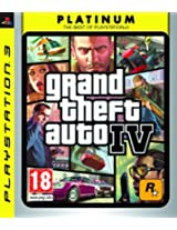 GTA Grand Theft Auto IV 4 Four (Sony PlayStation 3 PS3 Game)