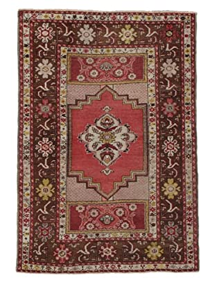 Momeni One of Kind Vintage Authentic Turkish Anatolian Rug, 3'7