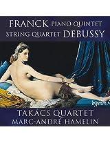 Franck/Debussy:Piano Works [Takacs Quartet; Marc-Andre Hamelin] [Hyperion: CDA68061]