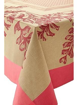 Garnier-Thiebaut Fougeres Table Cloth (Cranberry)