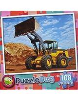 Puzzle Bug 100 Piece Puzzle ~ Bull Dozer