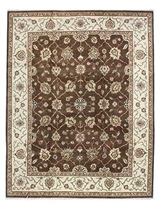 Bashian Rugs Agra Rug, Chocolate, 8' x 10' 1