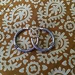 92.5 sterling silver hoops