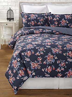 Tommy Hilfiger Rustic Floral Collection Duvet Set (Smoke)
