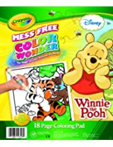 Crayola Wonder Winnie The Pooh colouring Pad