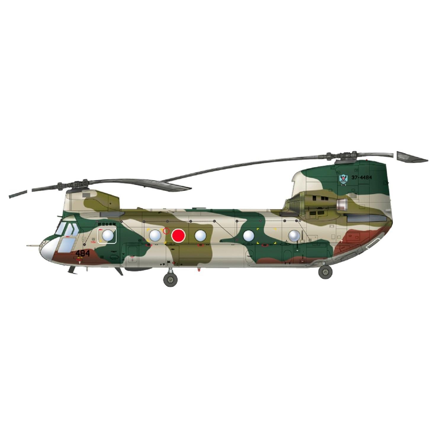 1/72 航空自衛隊 CH-47J チヌーク