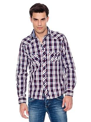 Pepe Jeans London Camisa Livein (Marino / Blanco)
