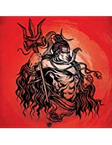 Shiva Red Poster from Graffiti